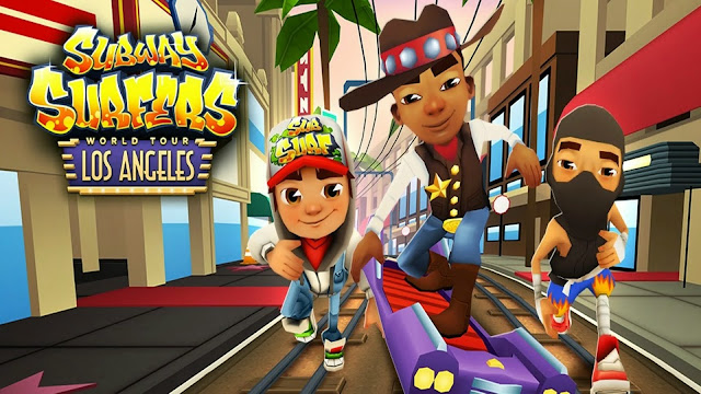 Subway Surfers V1.39.0 Los Angeles MOD APK
