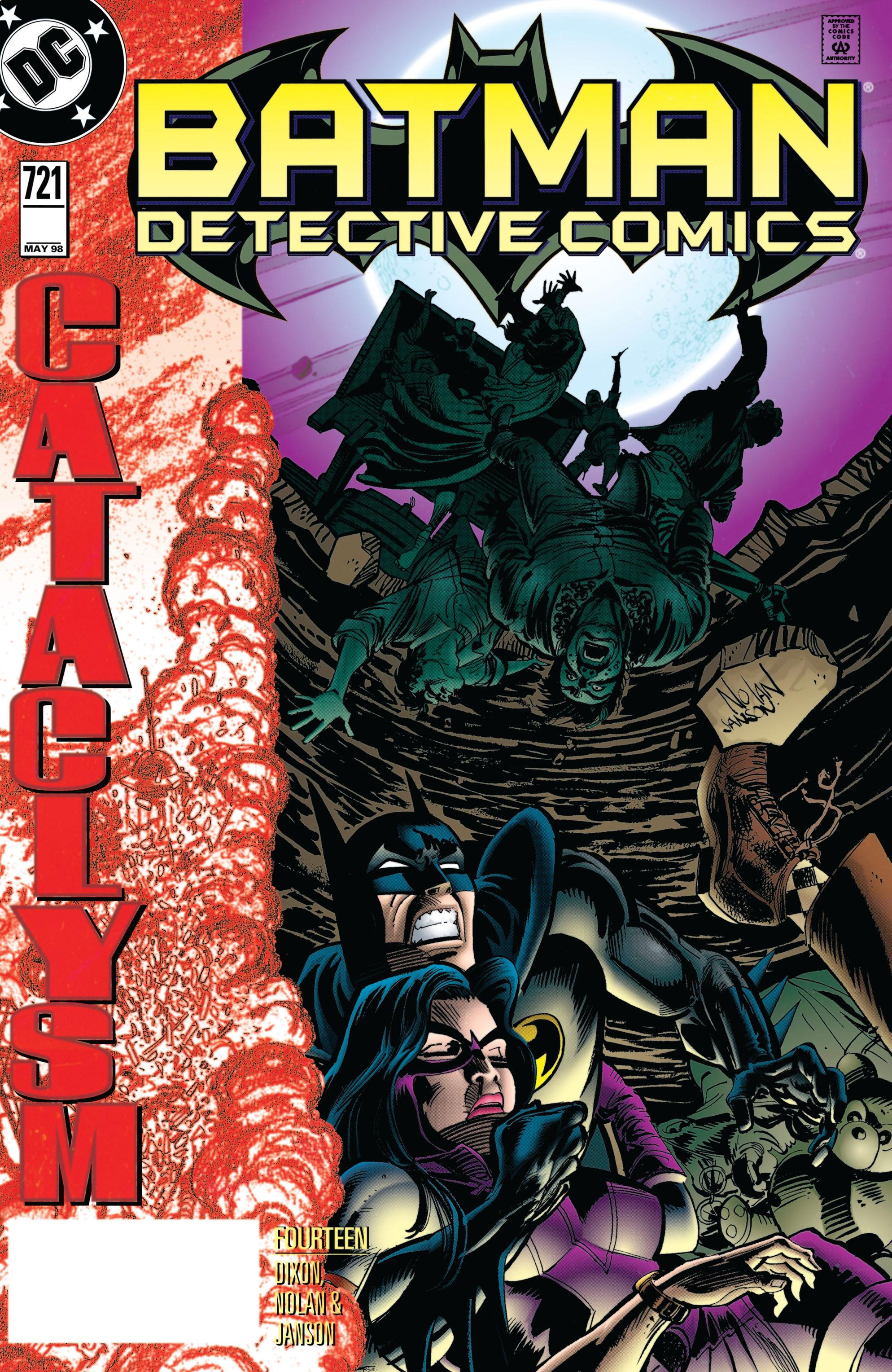 Detective Comics (1937) 721 Page 0