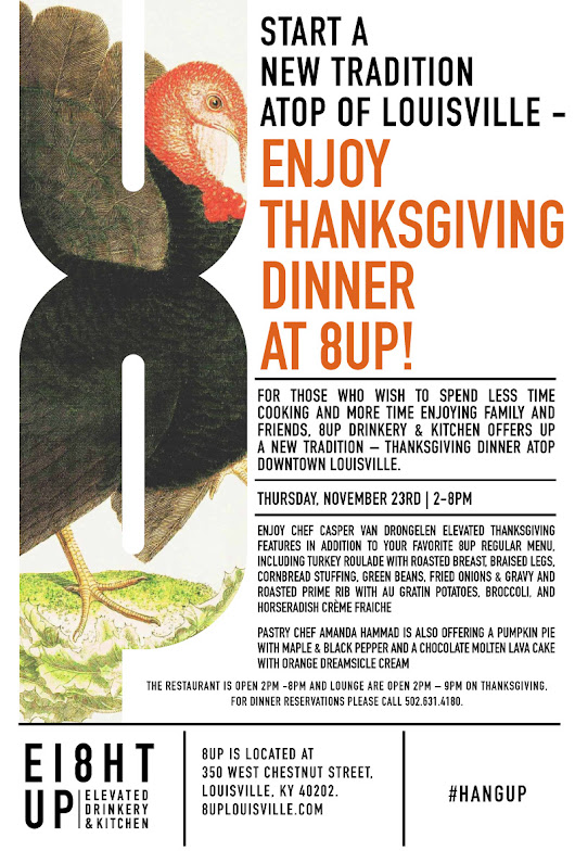 Celebrate Thanksgiving at 8UP