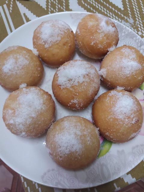 Resepi donut lembut dan gebu yang senang