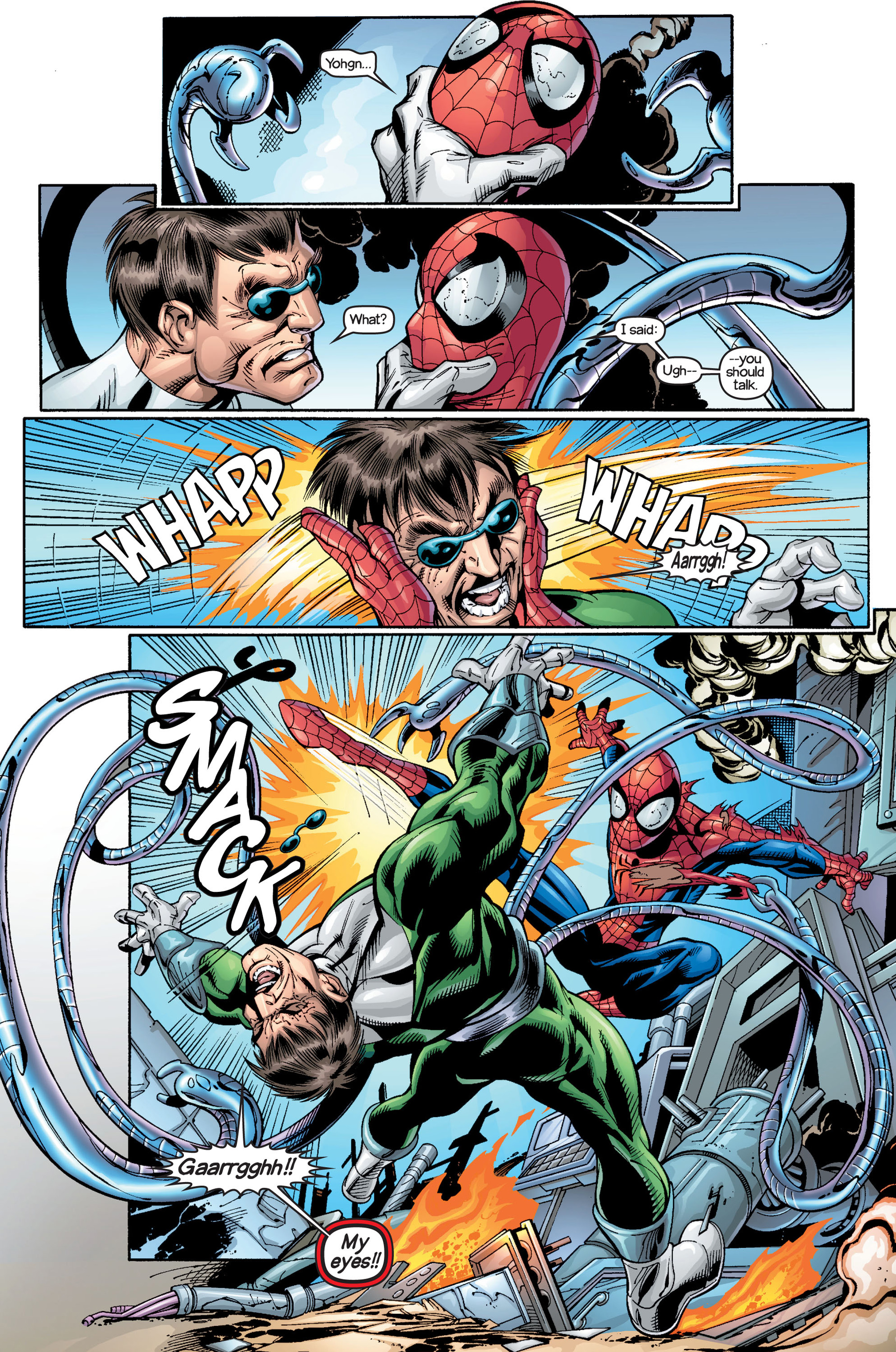 Read online Ultimate Spider-Man (2000) comic -  Issue #18 - 4