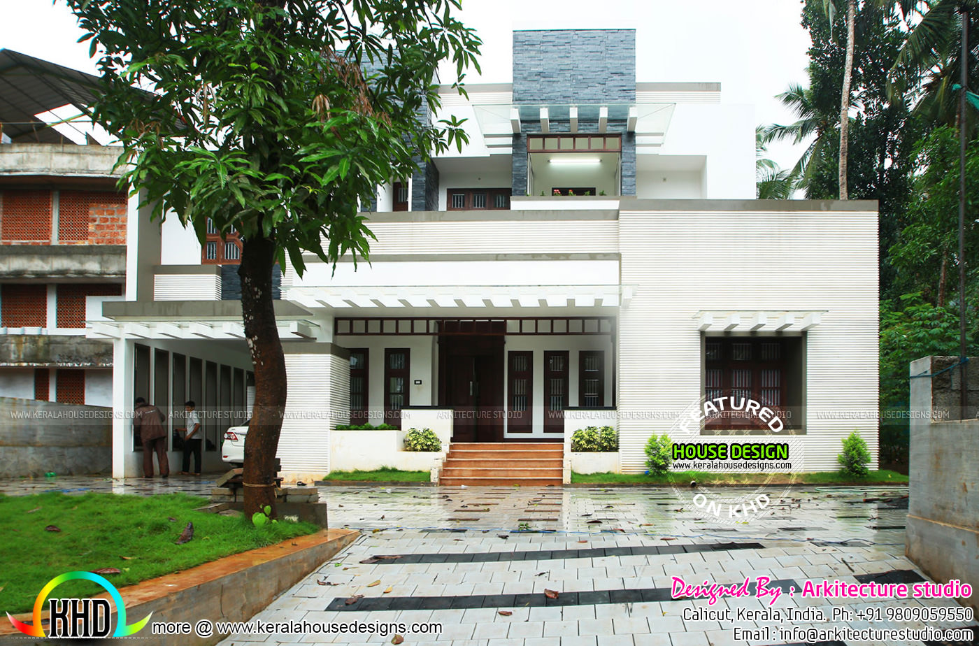 5000 sq ft house work finished kerala home design and for 5000 square feet home
