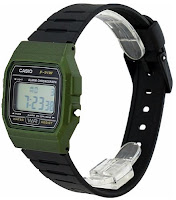 Casio F91WM-3A - vista tre quarti