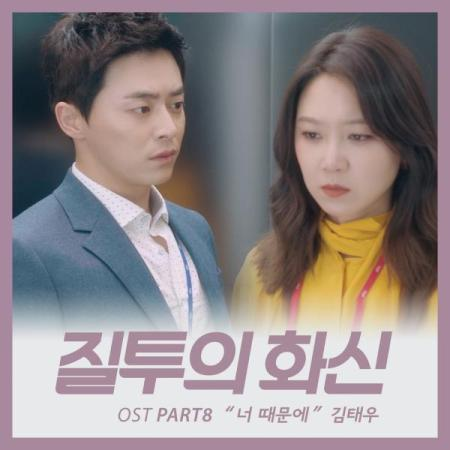 Lyric : Kim Tae Woo - Because Of You (OST. Jealousy Incarnate)