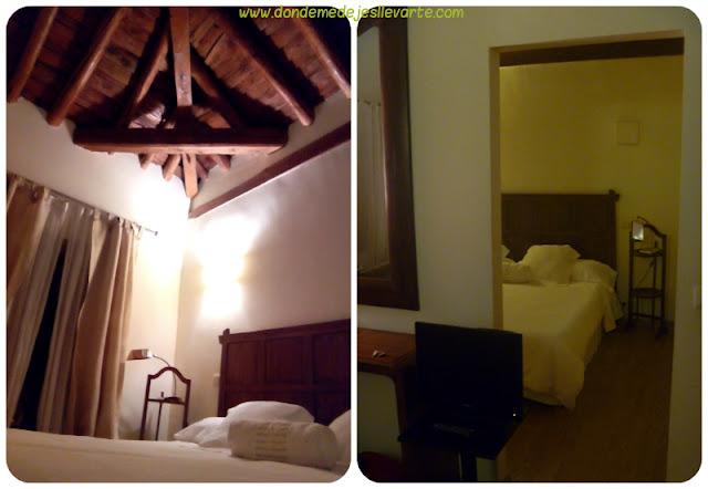 Habitación del Hotel Rural Casa Granero