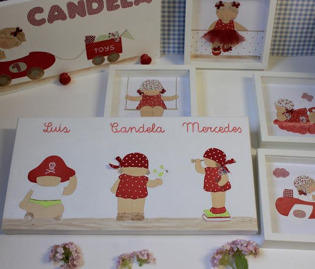 decoración infantil personalizada, cuadros infantiles , láminas infantiles, cojín infantil, personalizado con nombre