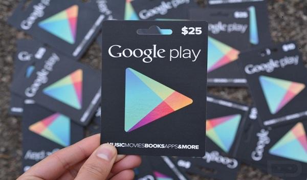 كيف تحصل  على بطاقات google play مجانا