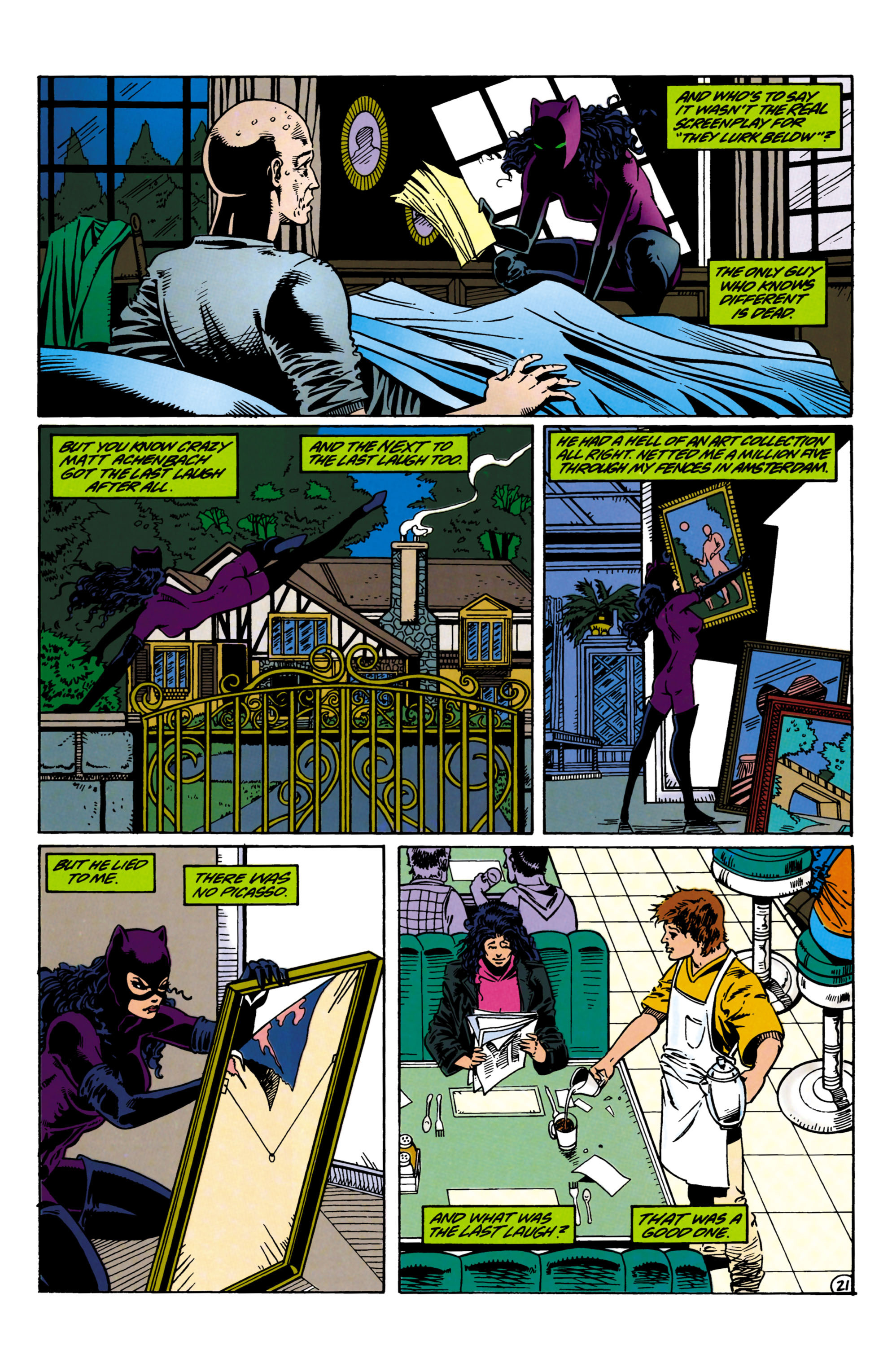 Catwoman (1993) Issue #21 #26 - English 21