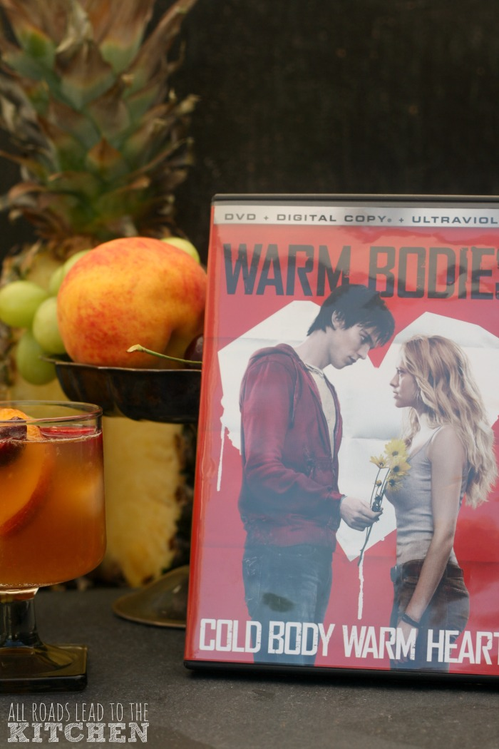 Beer Fruit Cocktail Sangria inspired by Warm Bodies