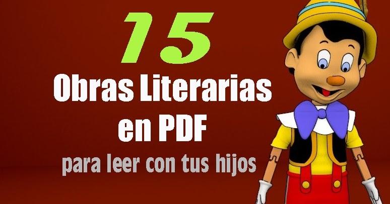 15 Obras Literarias En Pdf Gratuitas Para Leer Con Tus Hijos