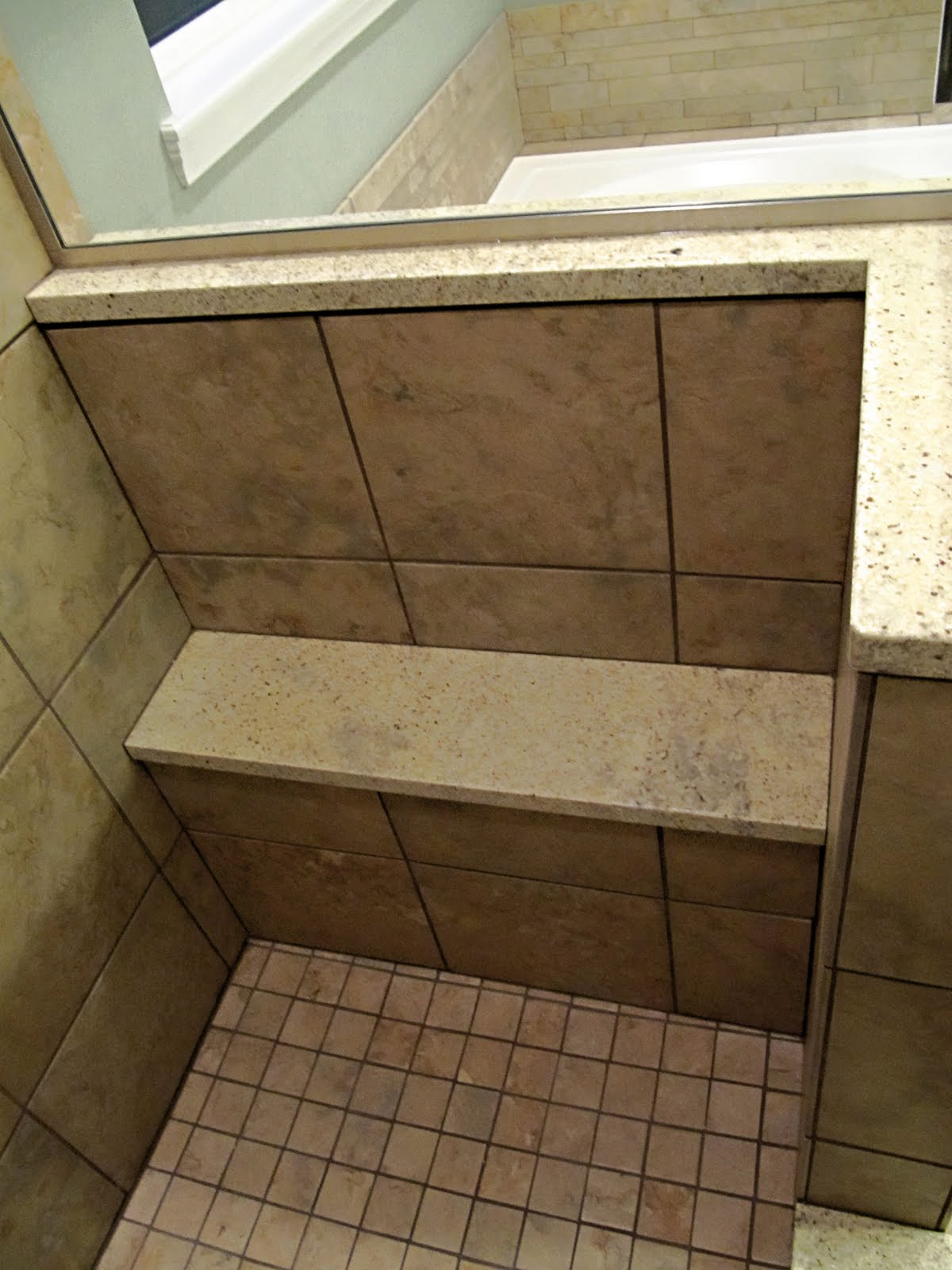 the shower niche gave us fits i chose a large niche from rediniche it installed well but using the provided adhesive to cover with tile did not work