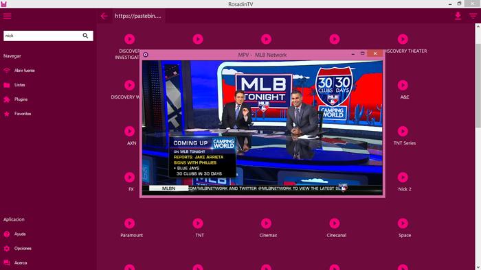 Rosadin Tv: Mira canales de Tv de paga totalmente gratis