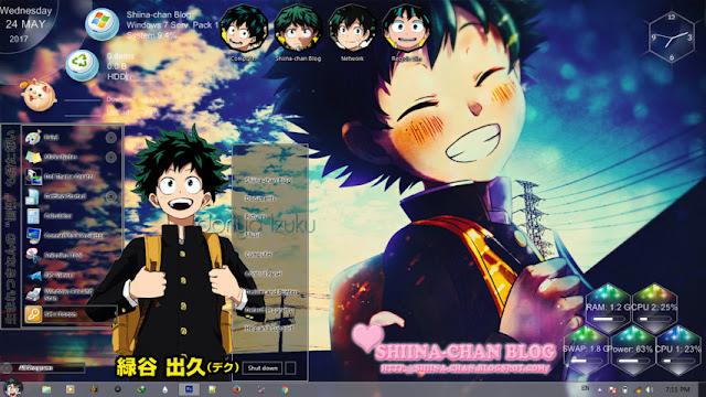Boku no Hero Academia - Midoriya Izuku Theme Win 7 by Enji Riz Lazuardi