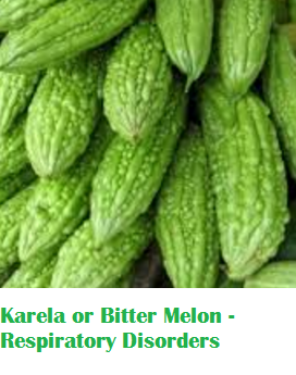 Health Benefits Of Karela or Bitter Melon - Respiratory Disorders
