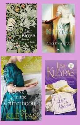 portadas de la novela romántica histórica Amor en la tarde