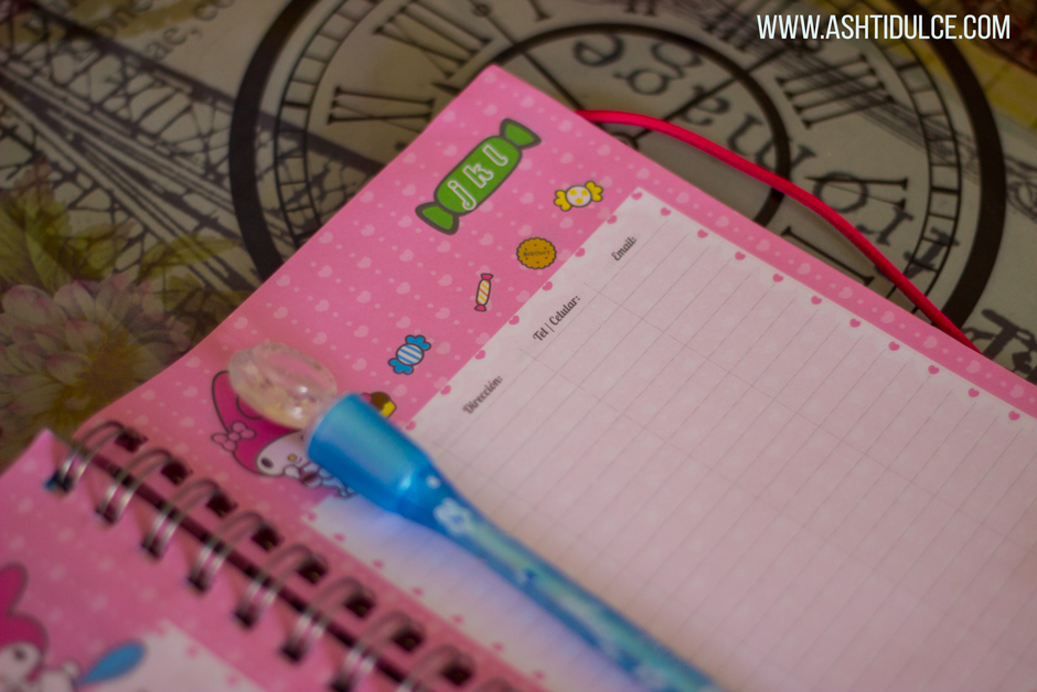 Hello Kitty agendas