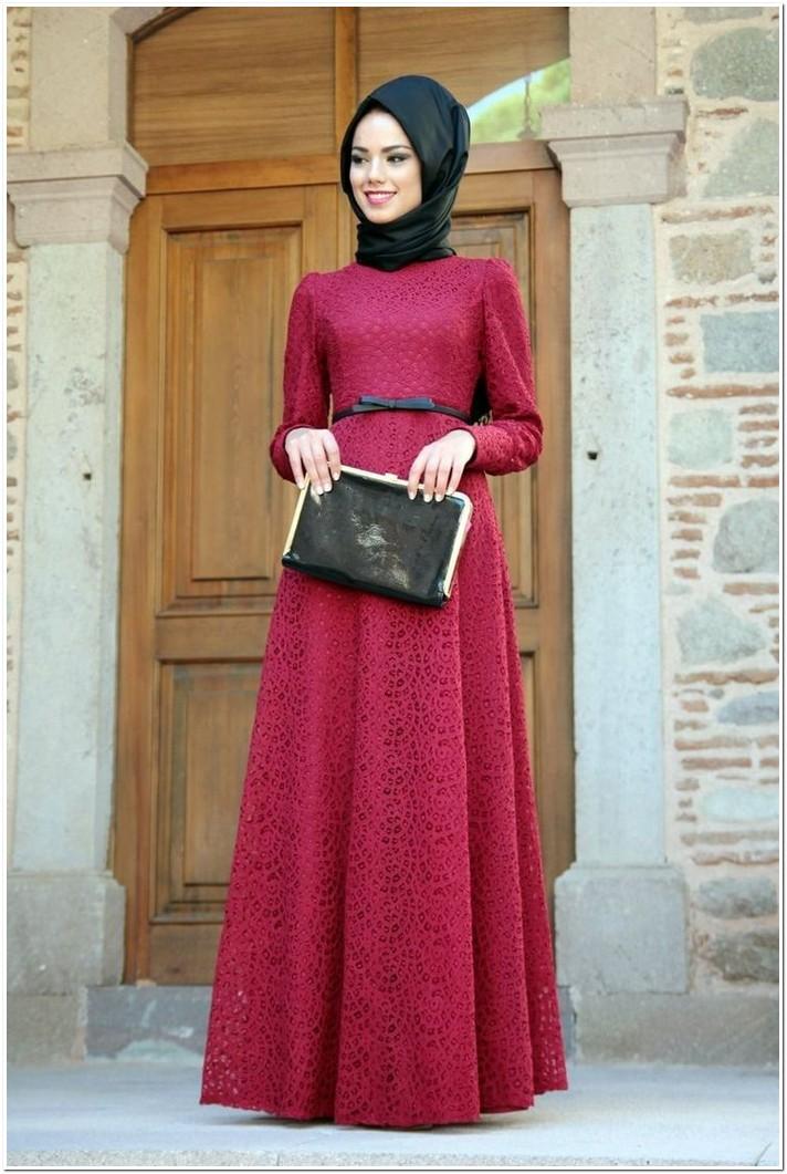Model Gaun Pesta Muslimah Paling Elegan Dan Cantik