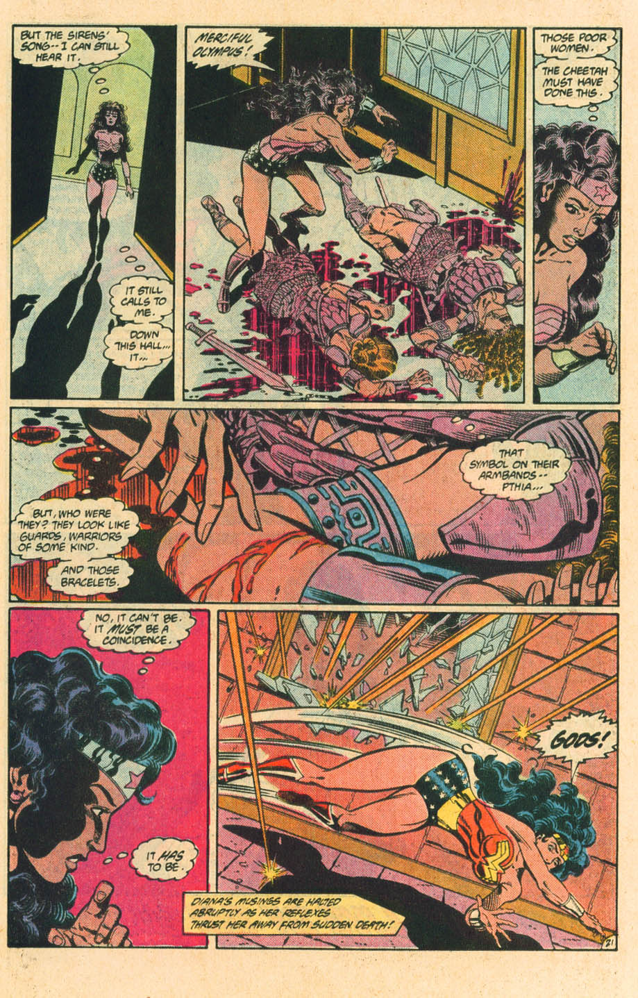 Read online Wonder Woman (1987) comic -  Issue #29 - 23