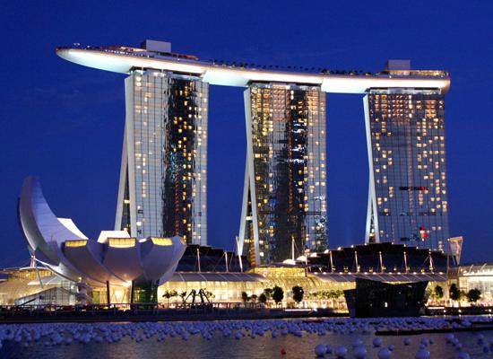 Khách sạn Marina Bay Sands đắt nhất Singapore