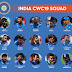 ICC World Cup 2019 India Team Squad : Indian Team Players List for WorldCup 2019