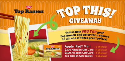 Top Ramen Top This! Giveaway