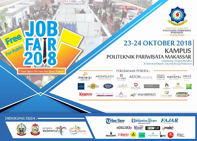 Job Fair Politeknik Pariwisataa Makassar