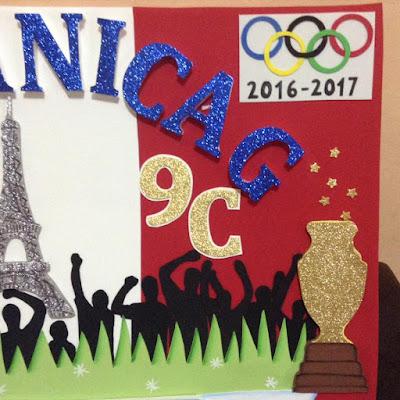 Mi dulce sorpresa pancartas deportivas y carteles escolares for Decoracion deportiva