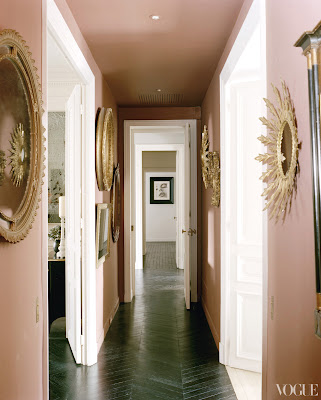 L'Wren Scott's Paris Home hallway