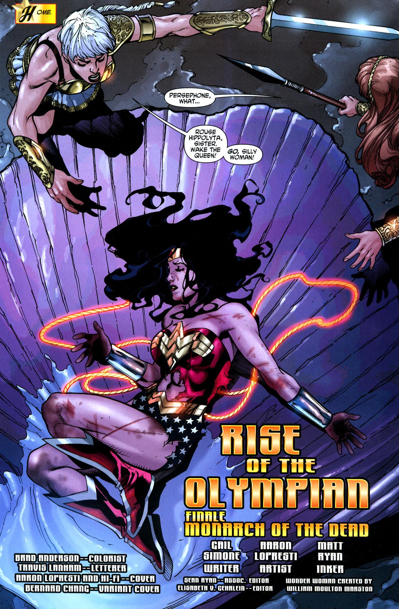 Read online Wonder Woman (2006) comic -  Issue #33 - 3