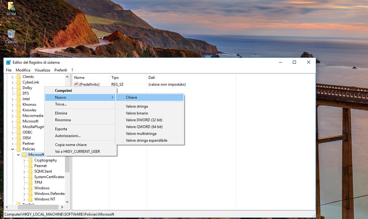 Microsoft-Nuovo-Chiave