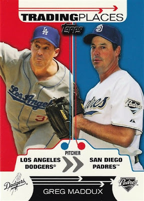 2007 Topps Trading Places #TP24 Greg Maddux