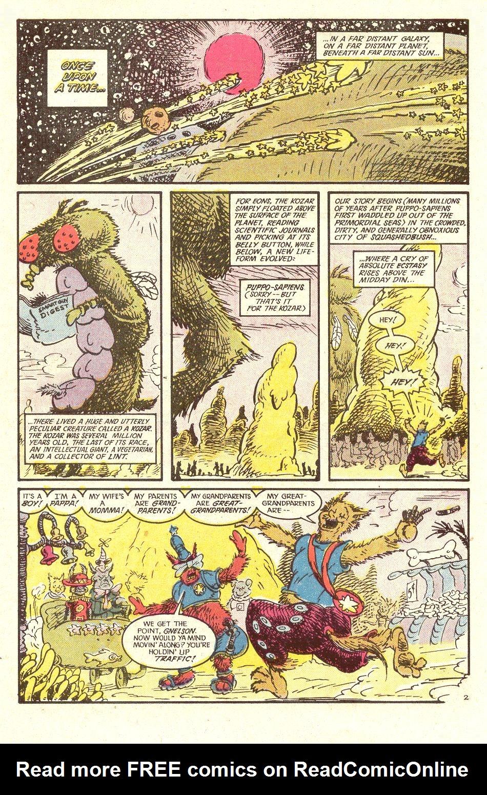 Read online Secret Origins (1986) comic -  Issue #34 - 36
