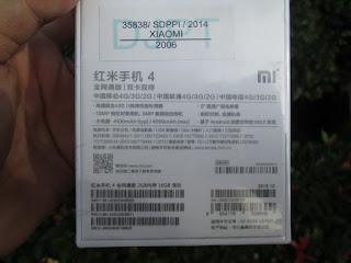 Xiaomi Redmi 4 2/16 Baru LTE Ram 2GB Camera 13MP Fingerprint Garansi 1 Tahun
