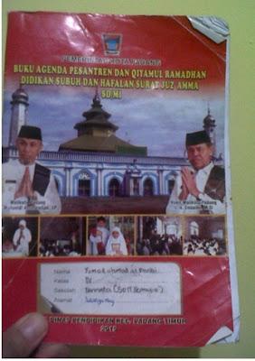 Buku panduan ramadhan diwajibkan dari Pemerintahan Kota Padang