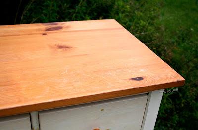 scratched varnish