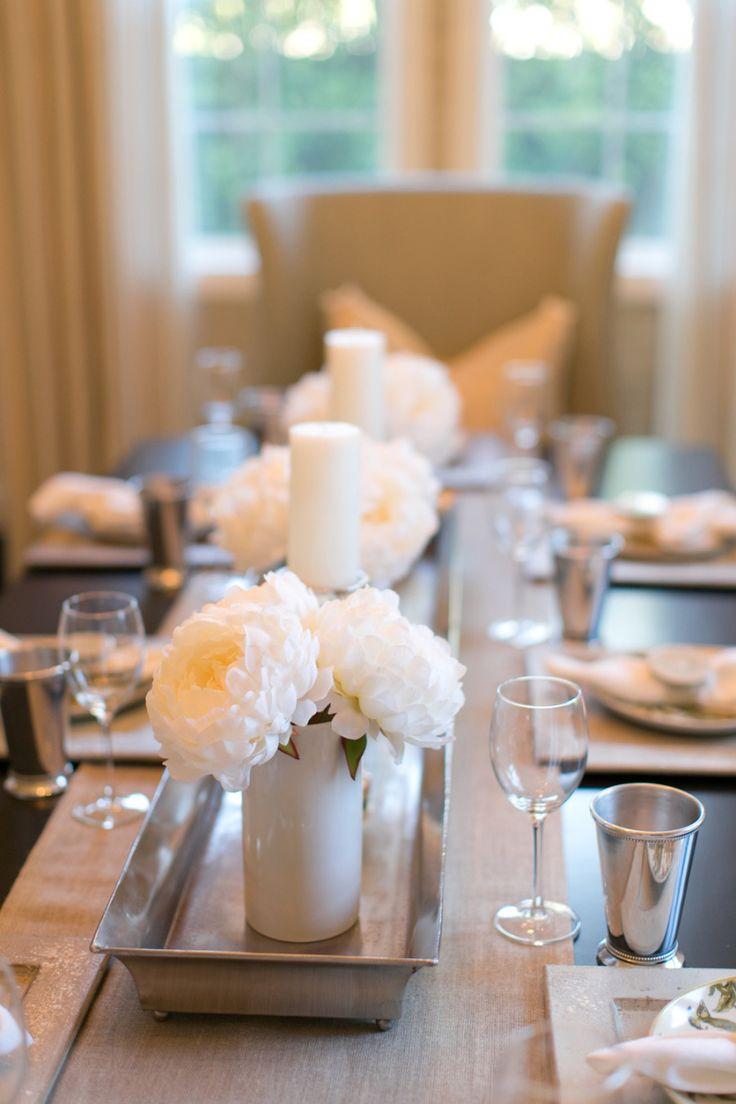 Ideas para centros de mesa para comedor