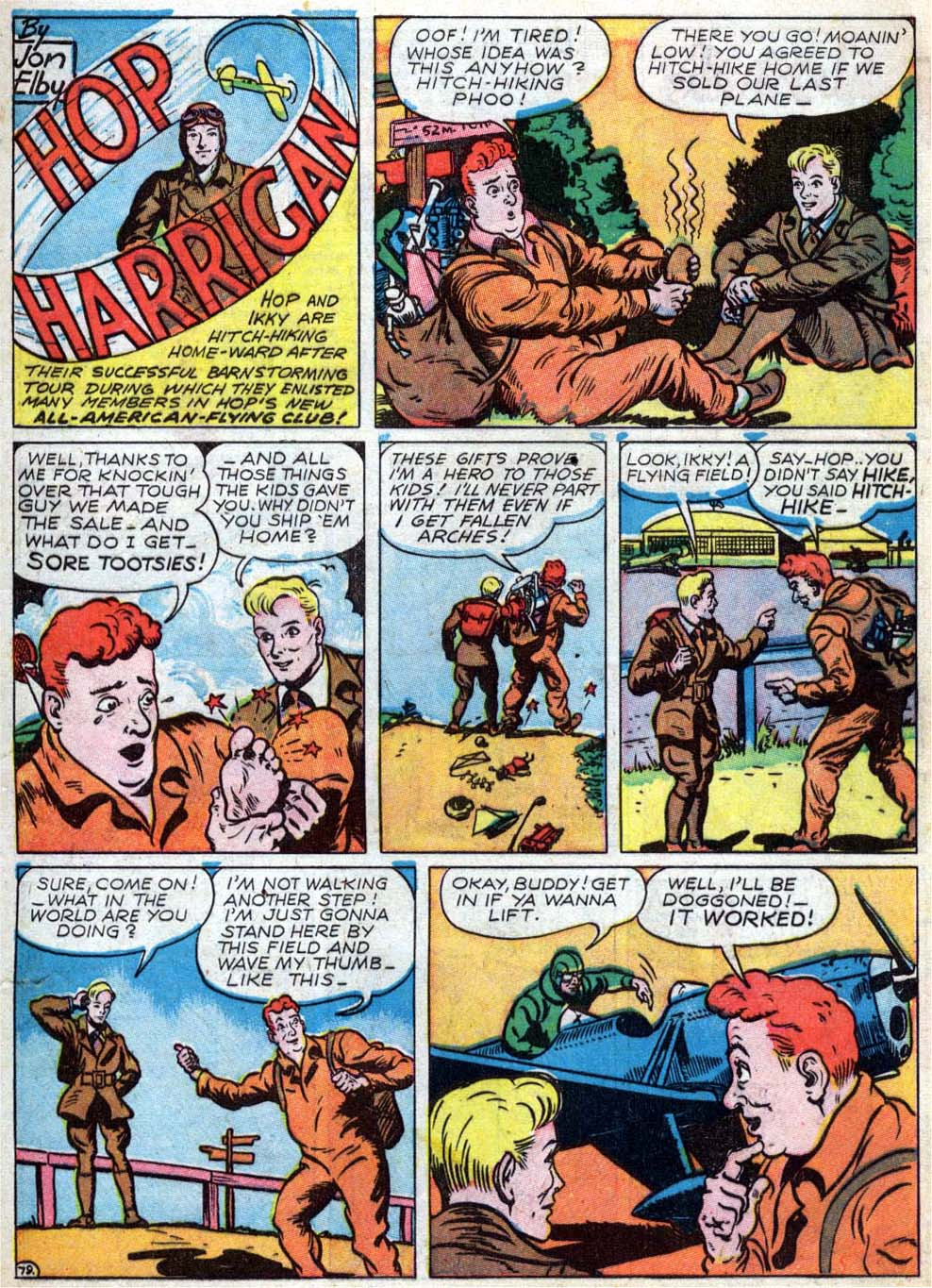 Read online All-American Comics (1939) comic -  Issue #18 - 21