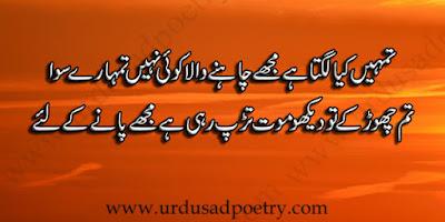 Tumhain Kiya Lagta Hay Mujhay Chahney Wala