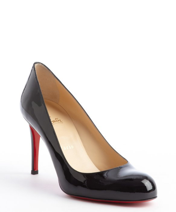 timeless design d7a4e d0725 CHRISTIAN LOUBOUTIN SIMPLE 85MM BLACK PATENT LEATHER - Reed ...