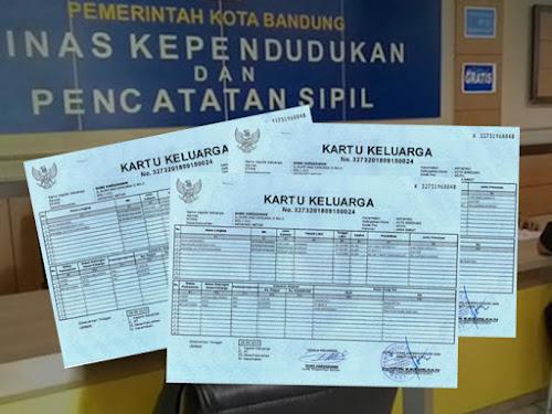 Cara Bikin KK Kota Bandung
