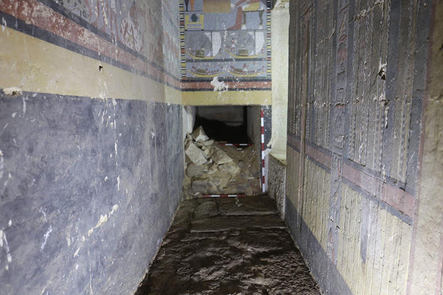 Fifth Dynasty tomb and name of new queen discovered at Saqqara