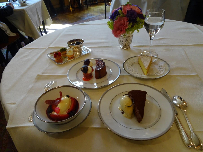 Dessert restaurant l'Ambroisie Paris 4ème.
