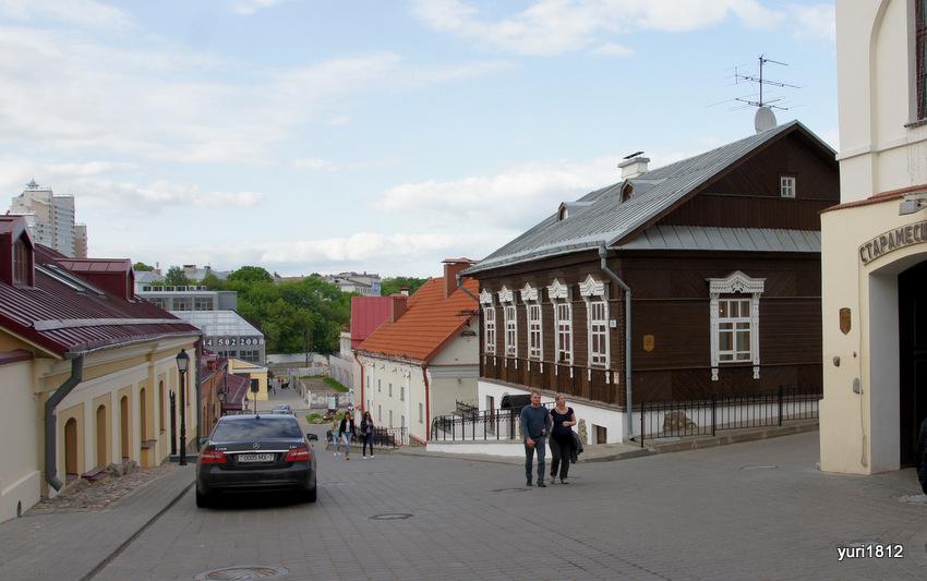 Верхний город - исторический центр Минска