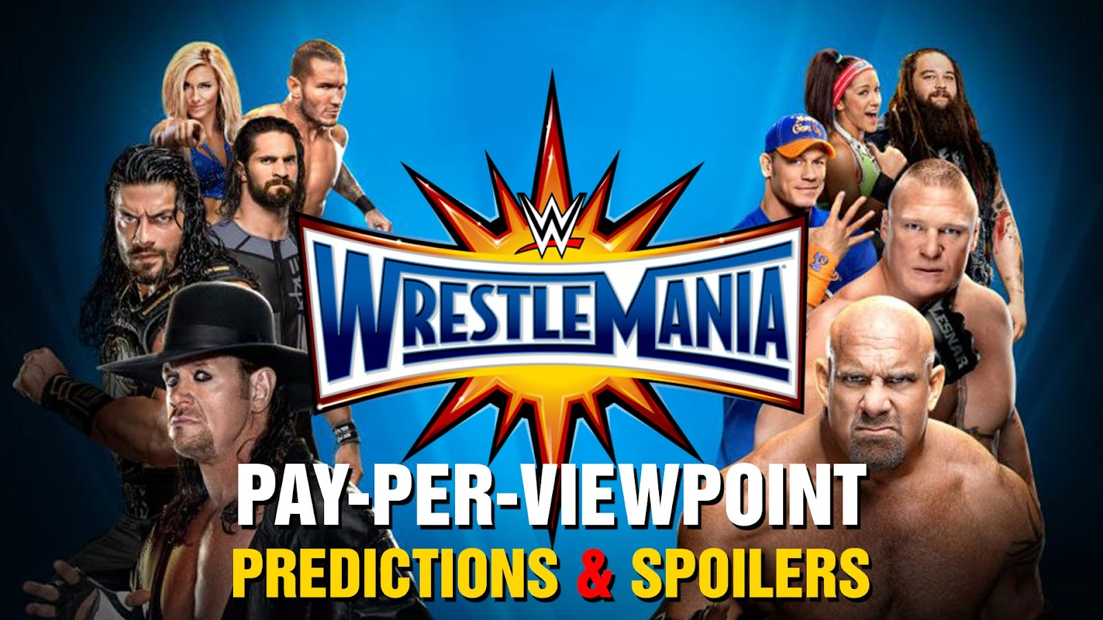 WWE WrestleMania 33 spoilers podcast