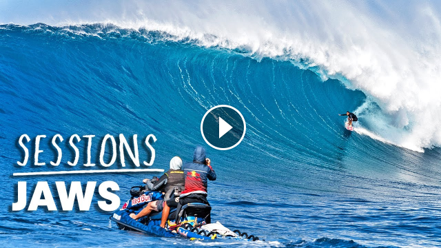 Billy Kemper And Kai Lenny Lead The Elite Big Wave Pack At Perfect Jaws Sessions