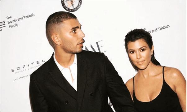Luxury Makeup Kourtney Kardashian Took Younes Bendjima On a Trip For His Birthday & Her Makeup Look
