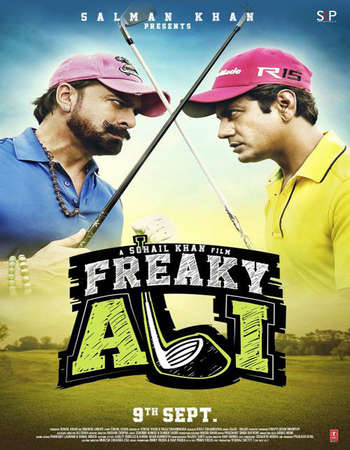 Poster Of Freaky Ali 2016 Hindi 450MB DVDScr 720p HEVC Watch Online Free Download downloadhub.net