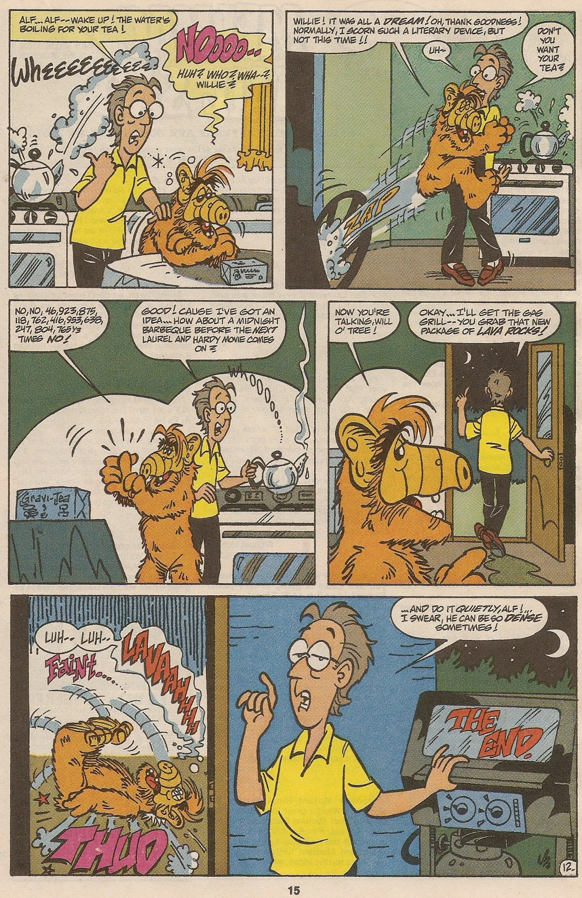 Read online ALF comic -  Issue #46 - 17