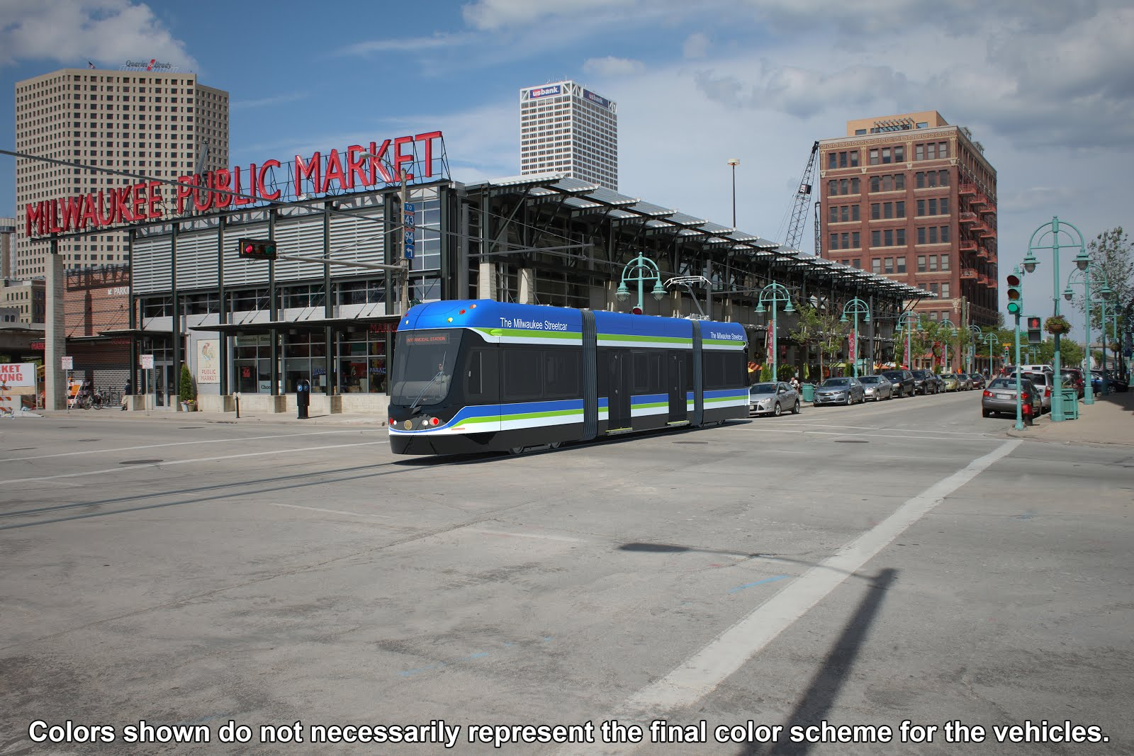 Milwaukee streetcar, on order