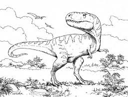 Tyrannosaurus Coloring Pages For Kids